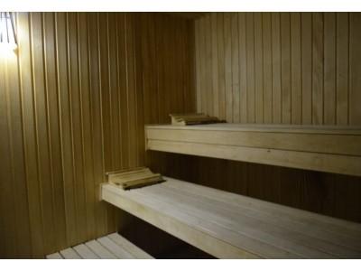 Отель Снежный барс Чегет  финская сауна
