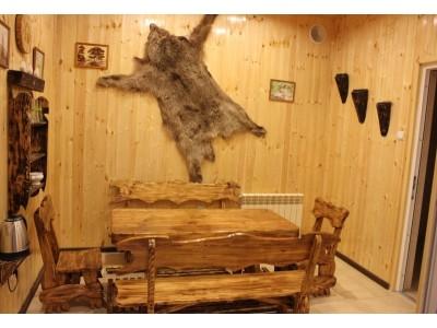 Отель Снежный барс Чегет |финская сауна
