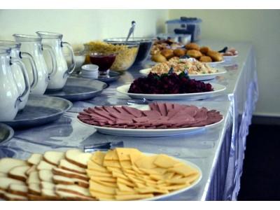 Отель Снежный барс Чегет |  питание, завтрак