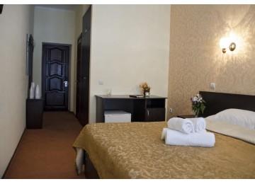 Стандарт TWIN   DBL (Корпус 1)  Номера и цены в отеле  Снежный барс Чегет